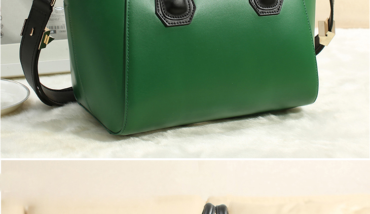 Moti 2014 New Spring Leather Handbags Embarrassed Smile Package