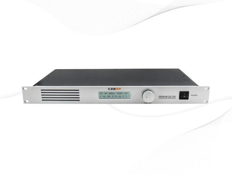 Professional CZE-T501 0-50W adjustable FM stereo transmitter broadcast radio station NJ connector(Hong Kong)