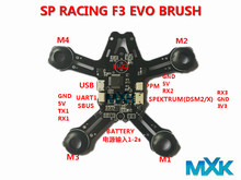 Buy Indoor FPV Tiny 92mm Micro Quadcopter Frame &SP RACING F3 EVO Brush Flight Controller Control Combo Tiny Whoop Quad Frame for $27.89 in AliExpress store