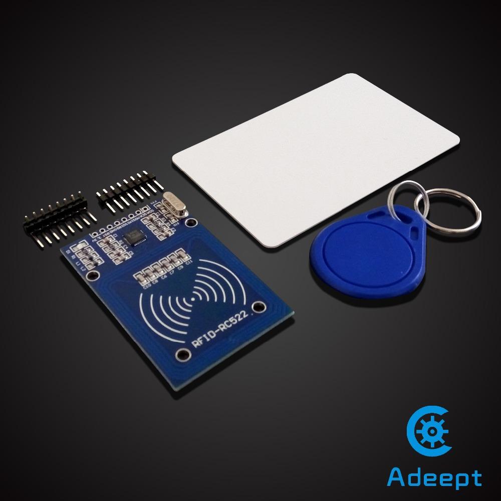 Free shipping rc mhz rfid rf id card reader writer