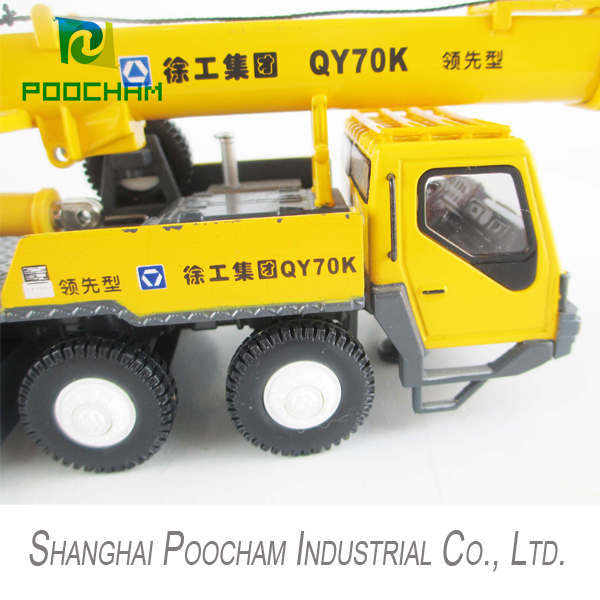 1:50 SCALE DIECAST METAL XCMG QY70K Truck Crane for sale(China (Mainland))