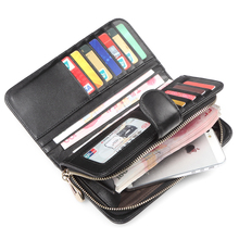 Women Pink Wallets Zipper Soft First Layer Genuine Sheep Leather Designer Wallet Purses Female Wallet Woman Free Shipping 1170