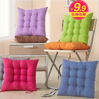 40 40 cm couleur pure coussins de chaise bureau de. Black Bedroom Furniture Sets. Home Design Ideas