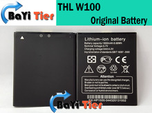 THL W100 Battery New Original 1800mAh 6.66Wh Li-ion Battery For THL W100s Smart Phone Free Shipping + In Stock(China (Mainland))