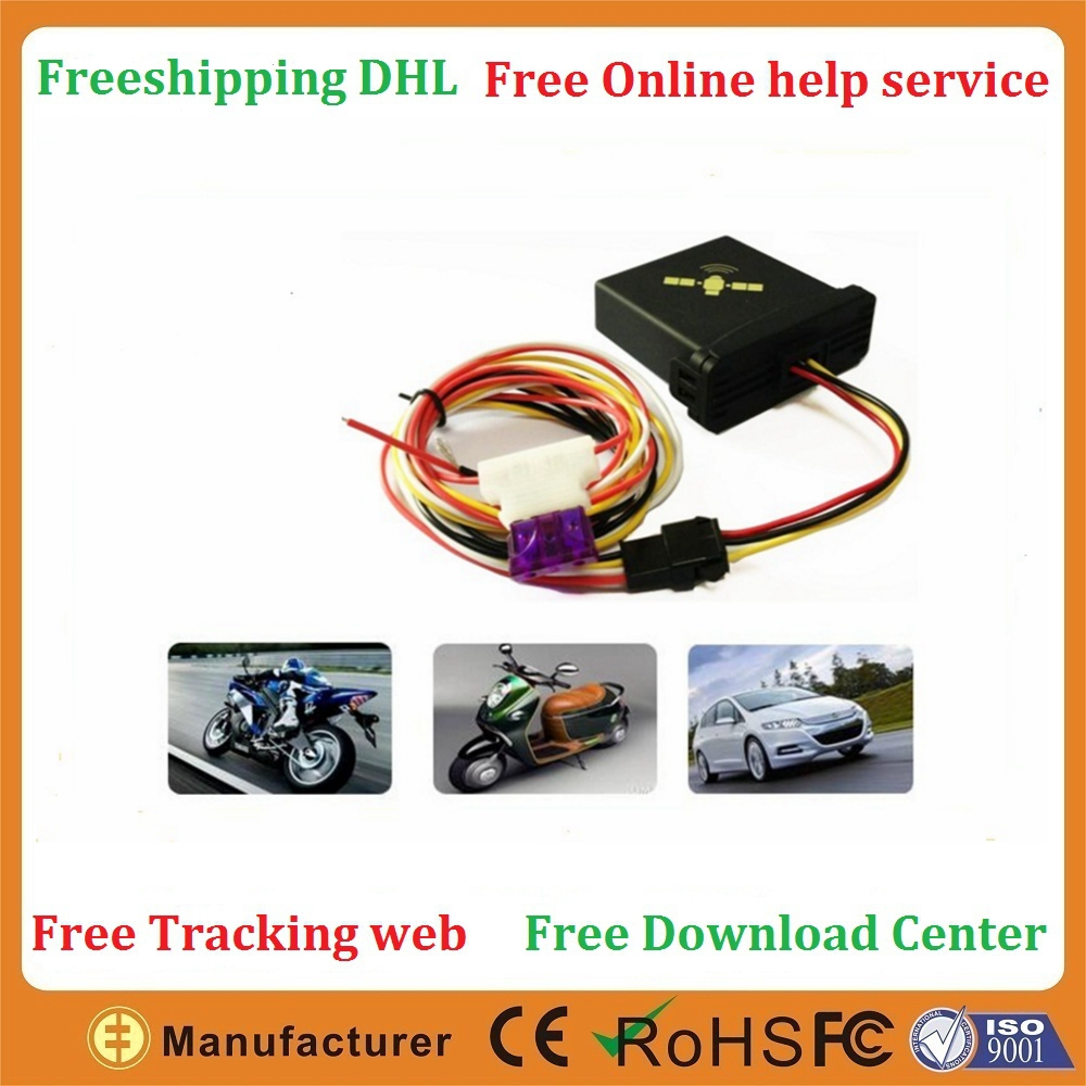 Mini 9-36V DC 1.5A GPRS GSM Quad bands GEO Fence Speed over Power tamper motorcycle gps tracker(China (Mainland))