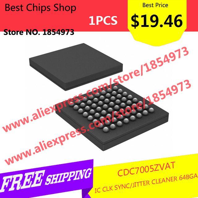 Free Shipping 1PCS=$19.46 Electronic Kit CDC7005ZVAT IC CLK SYNC/JITTER CLEANER 64BGA 7005 CDC7005(China (Mainland))