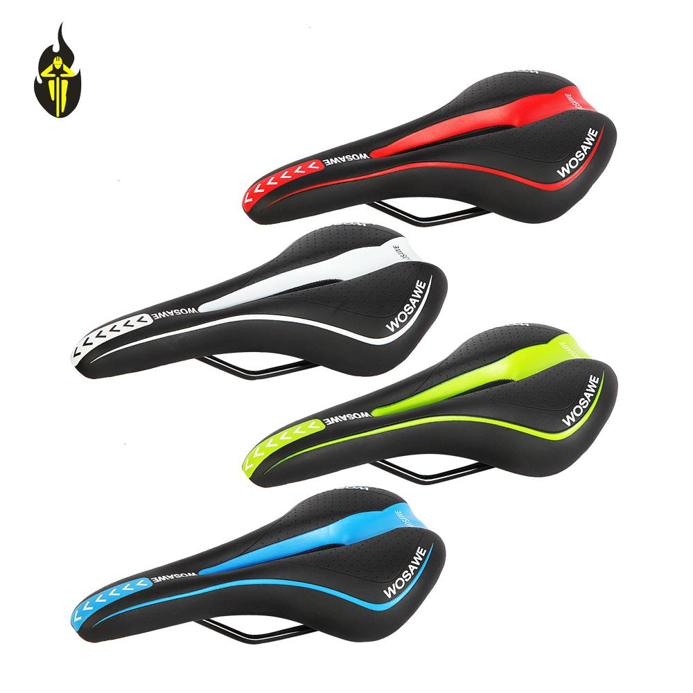Wolfbike Brand New 4 color Mountain bike Saddle Bicycle Saddle bicycle parts MTB Ride Racing Hollow Cushion Seat Cycling saddles(China (Mainland))