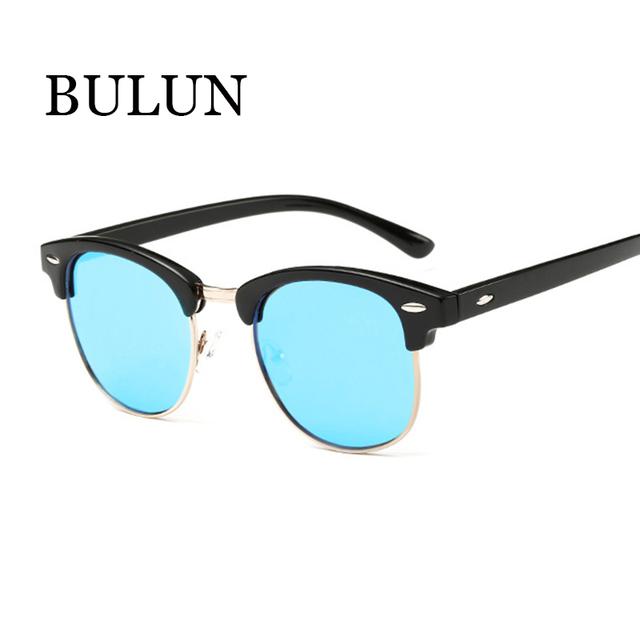Bulun высокое качество поляризованные очки мужчины модной урожай круглый солнцезащитные ...