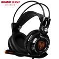 Pro Gaming Headphones With Microphone Somic G941 7 1 Surround Sound Effect USB Game Headset With
