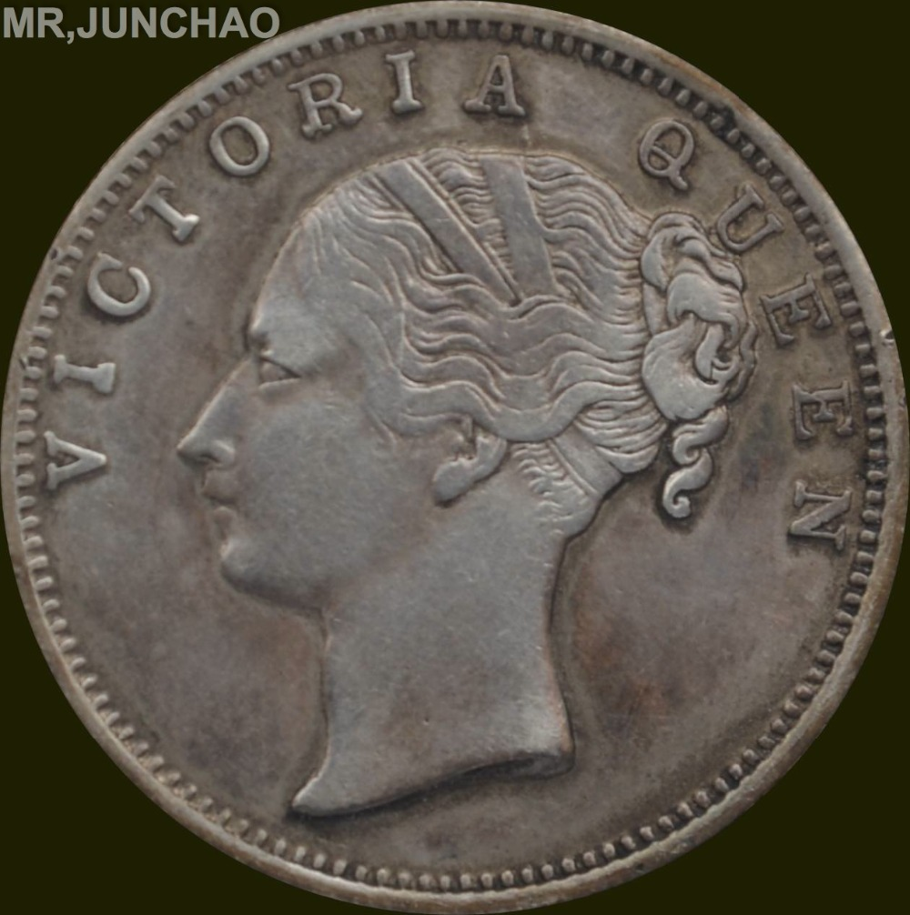 East India Company Coins 1840 90 Silver One Rupee Queen