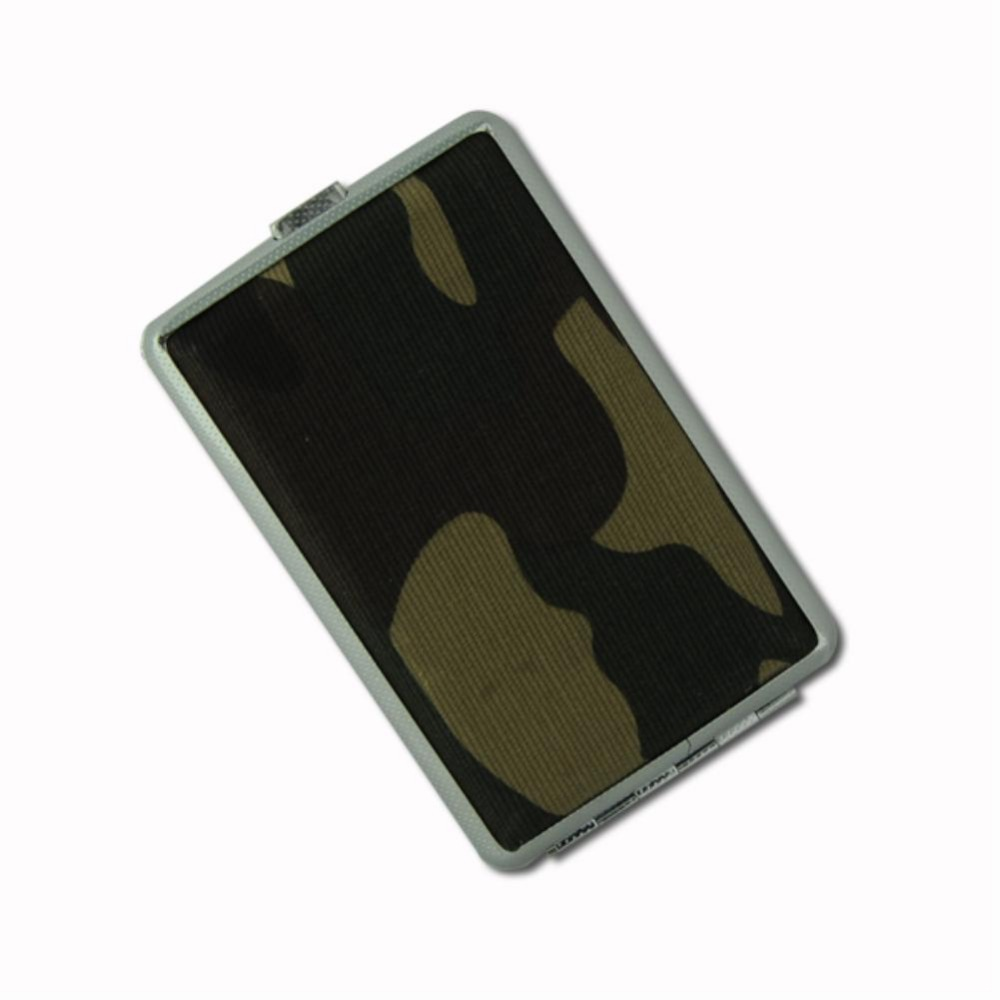 Camouflage Army Metal Case Box Cover Holder Pouch For 12pcs Cigarettes Tobacco EG5470(China (Mainland))