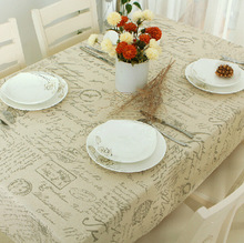 Tablecloth Popular Europe Stlye Sale Linen Table Cloth Rectangular Table Cloths Floral Print Dustproof EMS Free Shipping(China (Mainland))