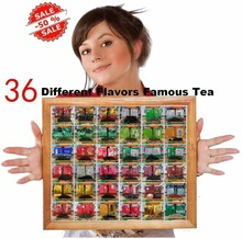 36 Different Flavors Famous Tea Chinese Tea including Oolong Puer Black Green White Herbal Flower Tea