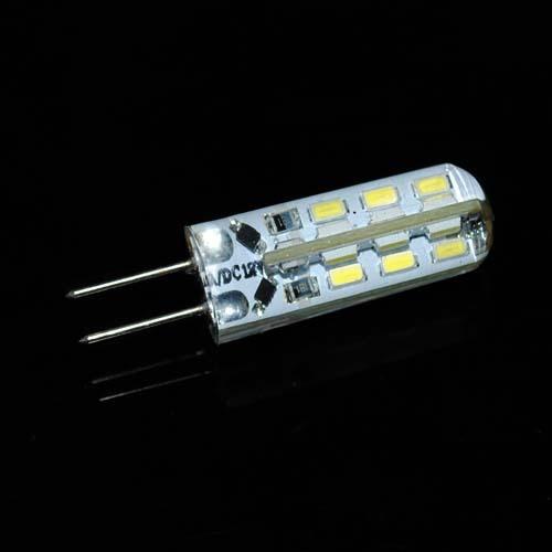 High quality Dimmable G4 Led 12V 24 Leds 3014 Chip Silicon Lamp DC12V Crystal Corn Light 3W Bulb Lighting 10Pcs/Lot(China (Mainland))