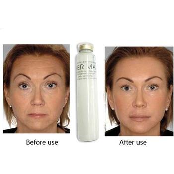 100% импорт франция коллаген против морщин кислота шелковый маска для лица против старения сыворотка, удалить глаз круг увлажняющий удалить крем для лица