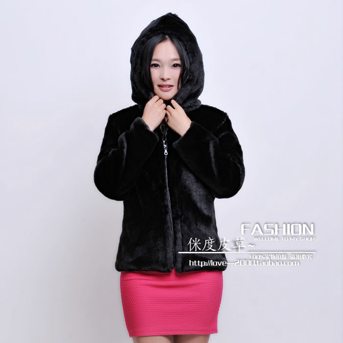 Popular Faux Fur Coat with Big Hood-Buy Cheap Faux Fur Coat with ...