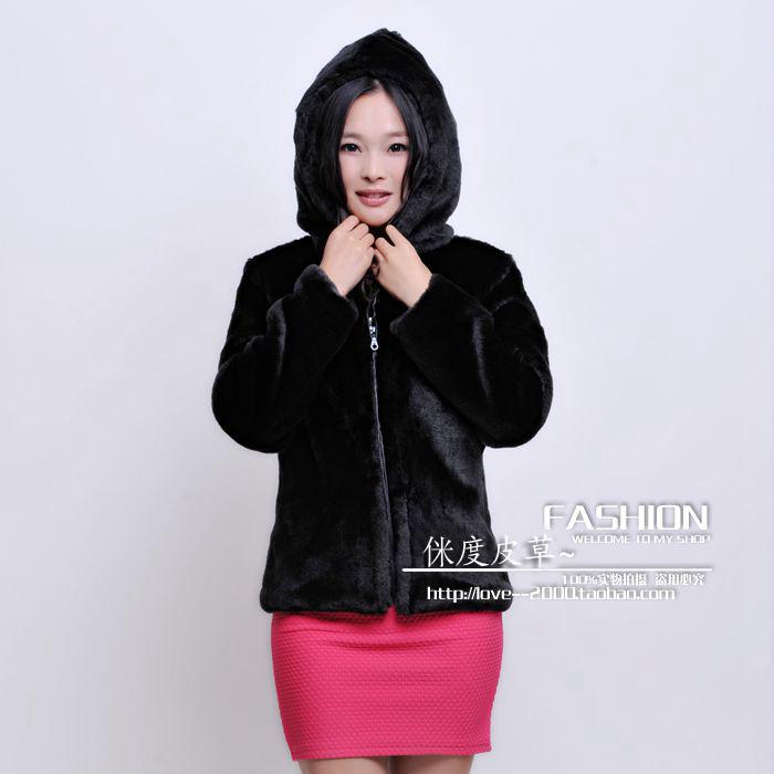 Popular Faux Fur Coat with Big Hood-Buy Cheap Faux Fur Coat with ...