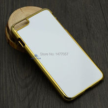 Free Shipping Sublimation Electroplate Case for iPhone6 plus(5.5″)