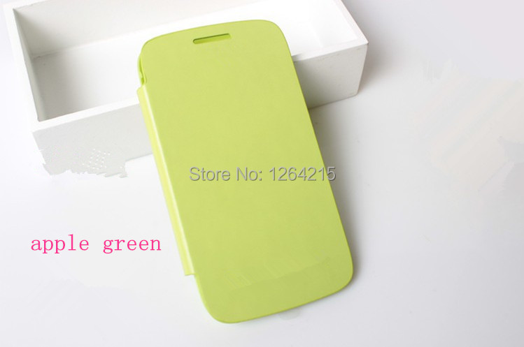 wholesale 20pcs For Samsung Galaxy Core I8260 I8262 GT-I8262 1:1 PU Flip Leather with Back Battery Case Cover With Retail Box