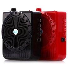 K8 5W Loudspeaker Microphone Amplifier Mini Portable Megaphone Digital Megaphone Voice Booster Audio External WIth FM Radio(China (Mainland))