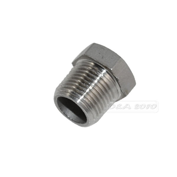 Quot male female reducer bushing thread pipe