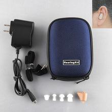 Новый Аккумуляторная Цифровая Мини Слуховой аппарат Уха Регулируемый Усилитель Звука Аудифон Acousticon Acouophone Audifonos Para Sordos(China (Mainland))