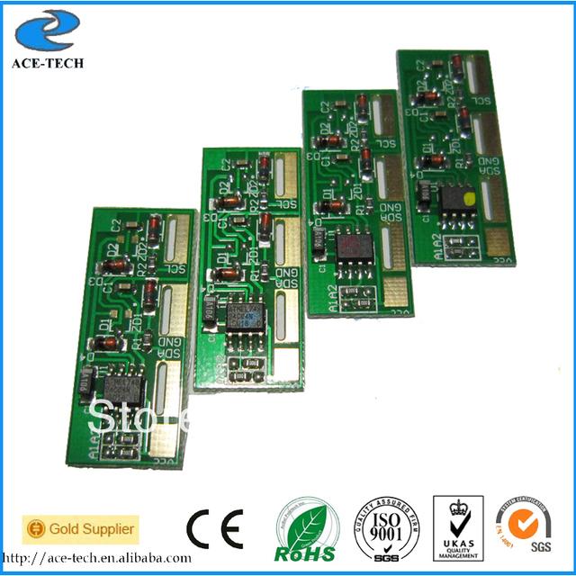 Toner reset chip for Samsung CLP510 color laser printer cartridge