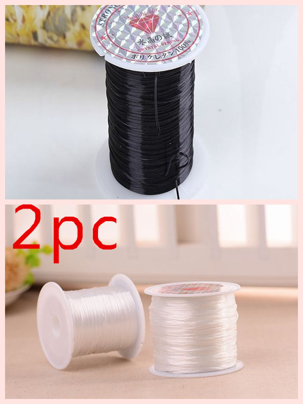 Stringing Beads on Elastic Beading Thread Cord String