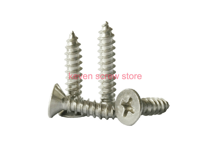 Гаджет  Free Shipping 100pcs GB846 M2.2x9.5 mm M2.2*9.5 mm 304 Stainless Steel flat head cross Countersunk head self tapping screw None Аппаратные средства