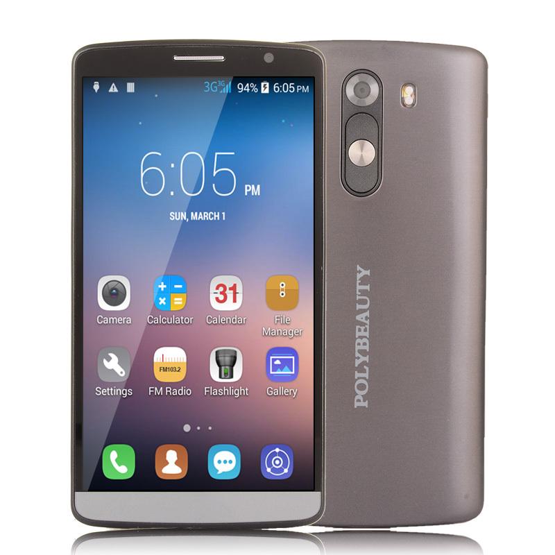 Original Smartphone P8000 Mobile Phone MTK6753 Octa Core MTK 6753 64bit 5.5 Inch GPS Android 5.0 4G RAM 16MP Camera Cell Phone(China (Mainland))
