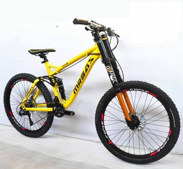 XC/AM/DH 24/27/30 speed 26 inch aluminum frame 26er mountain bicycle man woman bike Hydraulic Disc brakes 4