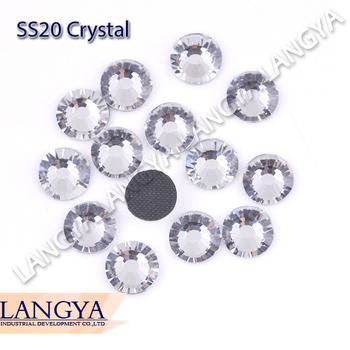Clear Crystal Color DIY Ion On More Shiny Big Promotion SS20 1440pcs DMC Hotfix Rhinestones
