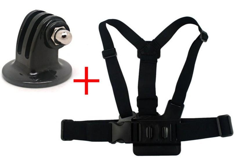 F05746-A OEM Tripod Camera Mount Adapter + Adjustable Elastic Body Chest Strap Shoulder Belt for GoPro HD Hero 2 3 +US Freeship<br><br>Aliexpress