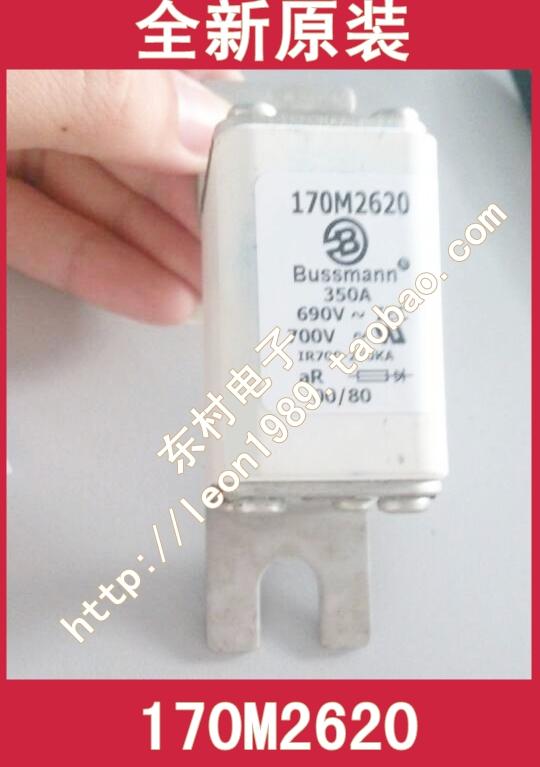 Фотография [SA]US imports COOPER BUSSMANN Fuses 170M2620 160A 690V fuse