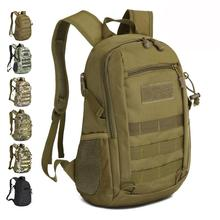 Camping bags Waterproof Molle Backpack Military 3P Gym School Trekking Ripstop Woodland Tactical Gear small for