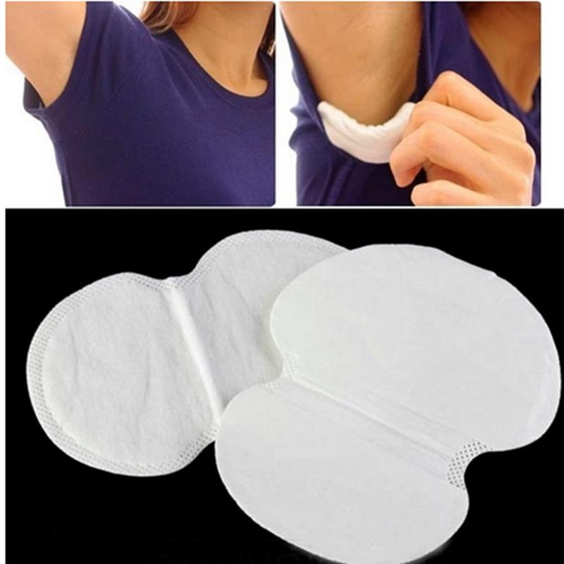 10 pairs Disposable Sweat Pad Anti perspirant Underarm Ultra-thin Absorbent Armpit Guard Sheet Shield Fresh Safe