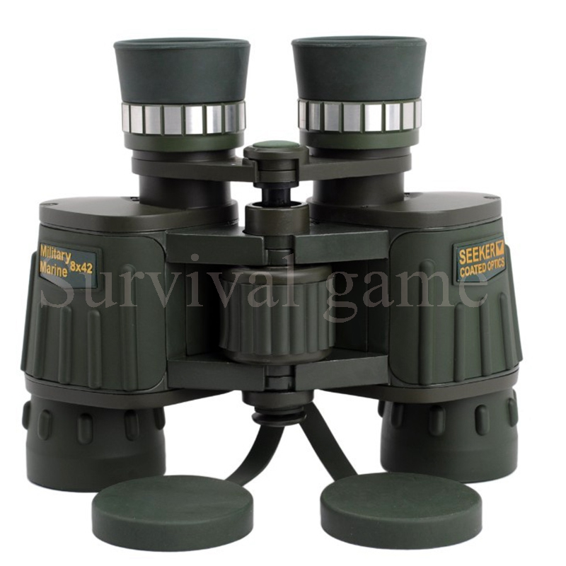 hot 8x42 High-Powered HD Green Fully Multi-Coated Bak4 Military Marine High Definition Day &amp; Night Vision Binocular Telescope<br><br>Aliexpress