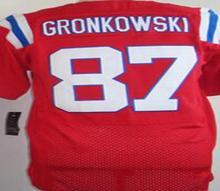 men's jersey,Elite 12 Tom Bradys 87 Rob Gronkowski 11 Julian Edelman jersey,White Red and Blue,size M-XXXL(China (Mainland))