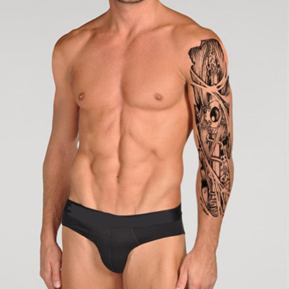 Body Paint Styling Tools Men Makeup Taty Henna Flash Tattoo Flash Tatuagem Temporaria Glitter Body Arm