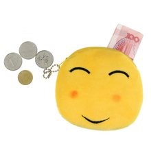 Excellent Quality Women s Coin Purse Fashion Women Girl Lovely Lady Small Emoji Smile Coin Purse