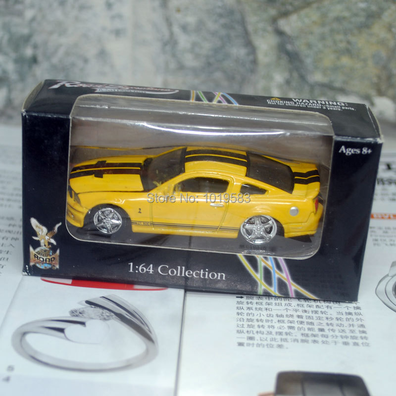 (10pcs/pack) yatming 1/64 Scale Car Model Toys 1967 Ford Shelby Eleaner GT500 Diecast Metal Pull Back Car Toy New In Box(China (Mainland))
