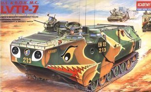 Army Boys:US Army LVTP-7 The amphibious armored vehicles 1:35 Model tank
