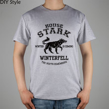 Buy JY HOUSE STARK GAME OF THRONES T-shirt top Lycra cotton Fashion Brand men t shirt high for $9.52 in AliExpress store