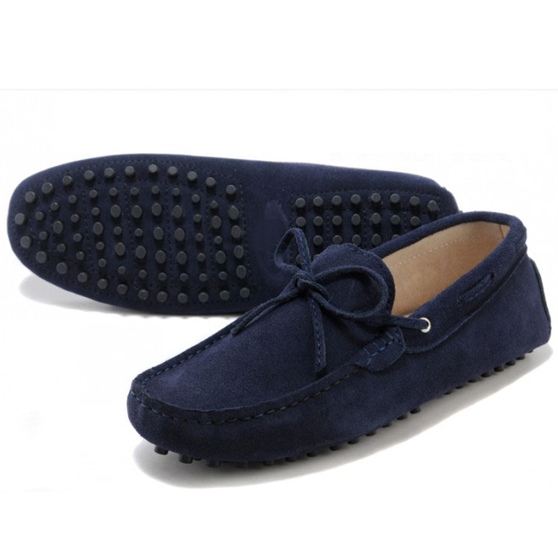 39-44 Plus size genuine leather fashion Flats casual breathable men shoes moccasins Men loafers hight quality driving shoes(China (Mainland))