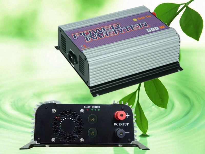 500W Wind Power Grid Tie Inverter,DC 22V-60V(48V 36v 24V) AC 220V 230V 240V,with Dump Load Controller,for wind turbine generator(China (Mainland))