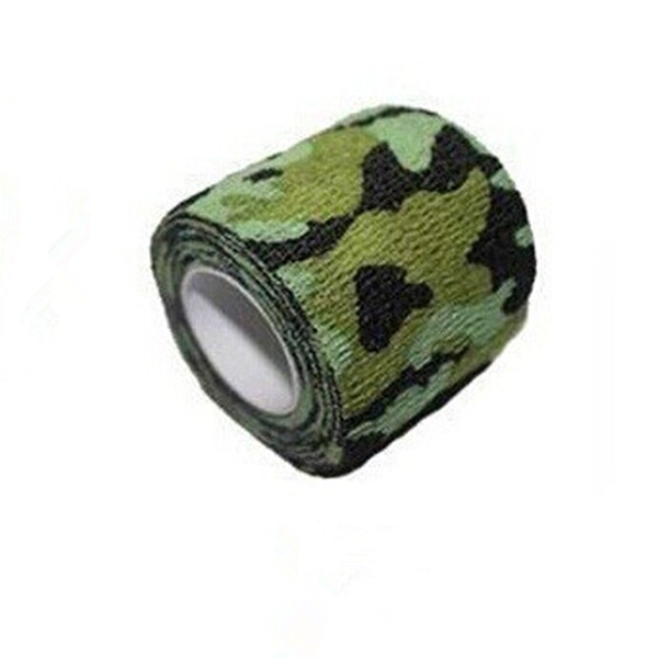 4 5M 5CM Kombat Army Camo Bandage Wrap Rifle Shooting Hunting Camouflage Stealth Tape for Outdoor