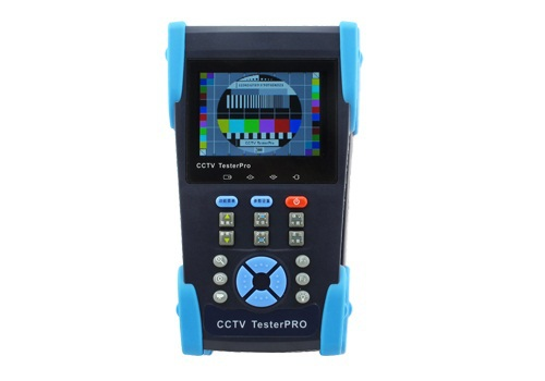 "HVT-6222T 3.5"" Inch LCD CCTV Camera Video PTZ RS485 UTP Tester Meter for On-site Installation and Maintenance of Video system(China (Mainland))"