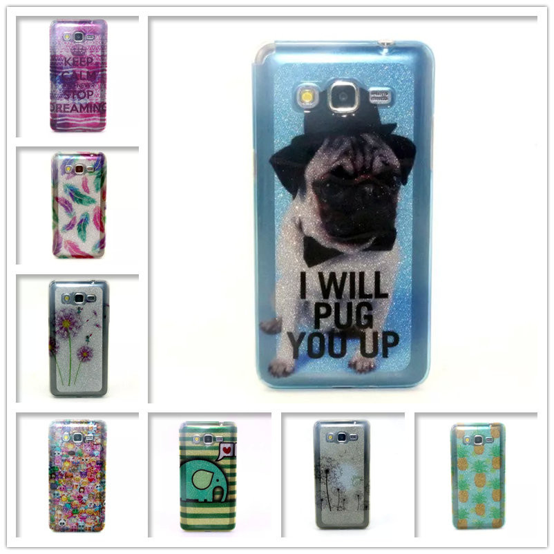 Luxury Glitter Case For Samsung Galaxy Grand Prime G530 G530H G5309W G531H Sparkle Glitter tpu soft Covers Shell Phone cases