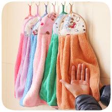 Hd T engrosada a incremento super absorbente toalla de cocina no está contaminada con lavado de aceite toalla que cuelga la toalla de terciopelo de coral 5