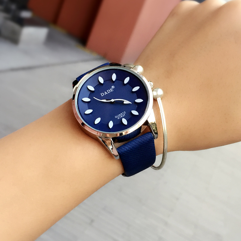 Classic 2016 New Fashion Simple Style Top Famous Luxury brand quartz watch Women casual Leather watches hot Clock Reloj mujeres